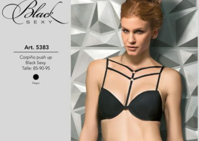 Cocot Art. 5383 Corpiño black sexy push up. Talles 85-90 y 95 $ 449.99