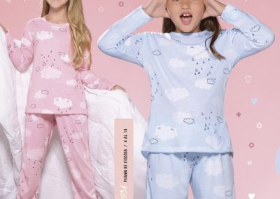 Art. 20934 Pijama de viscosa. Talles 4 al 16